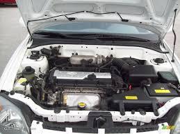 2004 Hyundai Accent GT Coupe 1.6 Liter DOHC 16-Valve 4 Cylinder ...