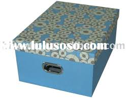 Cardboard Storage Box Decorative