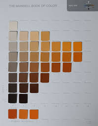 A Page From A Munsell Color Chart Learn How To Read A Color