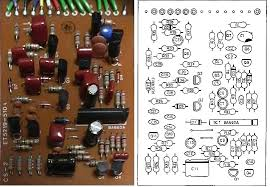 boss cs 2 compression sustainer guitar pedal schematic diagram boss cs 2 compression sustainer pcb component side et5219 510a
