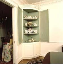 corner dining room cabinet dining room hutch curved corner built in oak corner dining room cabinet