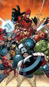 Avengers Wallpaper Comic
