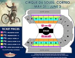 Cirque Du Soleil Orlando Seating Chart At Downtown Disney