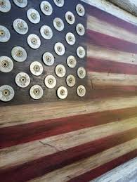 wood american flag rustic distressed painted wood art on painted wood american flag wall art with burned wood american flag with winchester shotgun shell star head