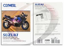 suzuki gsxf katana repair manual clymer m  1988 1996 suzuki gsx600f katana repair manual clymer m383 3 service shop garage