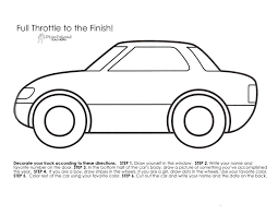 Printable Car Template Printable Car Template vastuuonminun 1