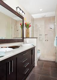 transitional bathroom ideas. Narrow Master Bathroom Ideas Inspirational Long And Guest Bath Transitional T