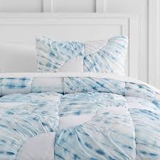 ocean spray tie dye quilt twin indigo