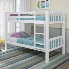 twin bunk beds. Unique Beds CorLiving Dakota White TwinSingle Bunk Bed With Twin Beds V