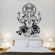 tremendous ganesh wall art interior designing home ideas tribal hindo vinyl decal uk canvas metal