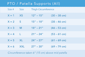 Breg Knee Brace Size Chart Breg Lateral Stabilizer Knee Brace