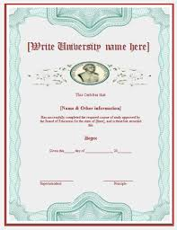 university degree certificate sample degree certificates templates imts2010 info