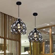 5w modern pendant lamps design white black iron chandelier for home lights bar living room lighting 110 240v exterior pendant lights oil rubbed bronze