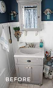 Small Bathroom Ideas With Vintage Decor Home Projects Makeovers