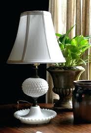 milk glass lamps vintage milk glass hobnail table lamp milk glass globe lamp shade