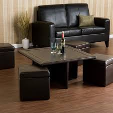 Top Coffee Table Coffee Table With Pull Out Ottomans Brown Different In Coffee  Table With Pull Out Ottomans Decor