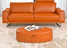new orange leather sofa 71 for home kitchen cabinets ideas with orange leather sofa