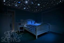 diy glow in the dark ceiling with stars