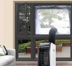 Aozzy Airlock 100 Fensterabdichtung Für Mobile Klimageräte Und Ablufttrockner Klimaanlage Fensterabdichtung