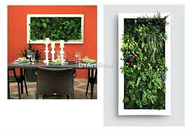 artificial plant wall plants with frame decor