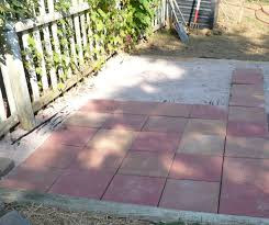 stunning fresh creative diy paver patio pict for how to install a walkway popular and concrete