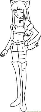 Mew Mew Coloring Page - Free Tokyo Mew Mew Coloring Pages ...