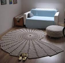 get free pattern giant crochet doily rug pattern