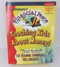 Dave Ramsey Junior Chore Chart Dave Ramseys Financial Peace Jr Teaching Kids About Money