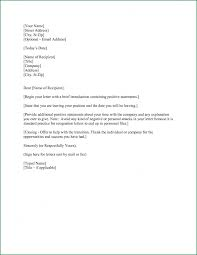 How To End A Resignation Letter Images - Letter Format Examples