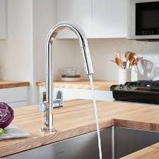 Touch kitchen faucets Lowes Beale Measurefill Touch Kitchen Faucet American Standard Beale Measurefill Touch Kitchen Faucet American Standard