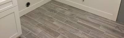 bathroom floor tile plank. Gray Plank Ceramic Tile Flooring Complements Overall Remodel Bathroom Floor A