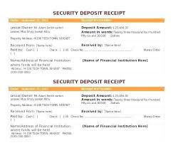 Check Receipt Template Delectable Rent Receipt Format Free Payment Printable Cash Tenancy Deposit
