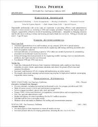 Executive Assistant Resumes Examples Assistant Resume Examples
