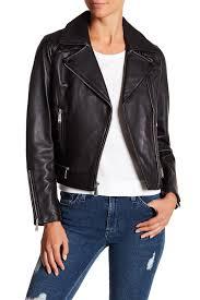 bcbgeneration asymmetrical zip lamb leather moto jacket