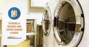 moving washer and dryer. Storing A Washer And Dryer During Move Moving