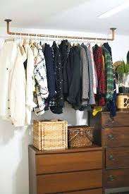 furniture for hanging clothes. Bedroom Furniture For Hanging Clothes Hang Without A Closet Do It Yourself . S