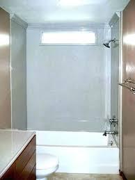 one piece bathroom shower one piece bathroom shower walls surround installation 1 bath unit a 15