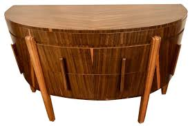 art deco furniture. Art Deco Demi Lune English Buffet Storage Cabinet Furniture S