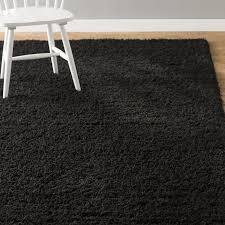 interior architecture eye catching black area rug in orian rugs illusion com black area