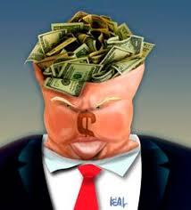 Resultado de imagem para caricaturas de donald trump