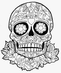 Coloring Pages Sugar Skull Coloring Book For Adults Skull Coloring