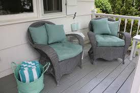 light grey wicker outdoor furniture