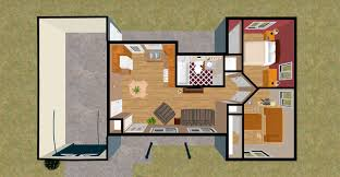 Small Bedroom Floor Plans Tiny House Floor Plans And Amazing Single Floor House Plans 2