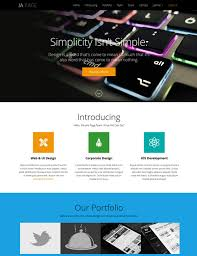 Ja Onepage One Page Joomla Template For Business Joomla