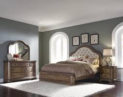 Pulaski Furniture Bedroom Sets Aurora Tufted Upholstered Bedroom Set With Linen Fabric By Pulaski