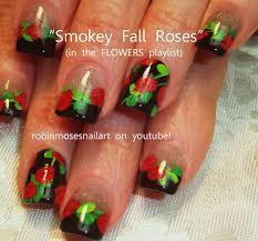 Robin Moses Nail Art: gargoyle nail art, red rose nail art, smokey ...