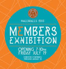 Hallwalls 2013 Members Exhibition - 7/19/13 - Hallwalls