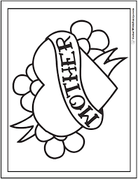 Small Picture Coloring Pictures Of Flowers And Hearts Coloring Pages