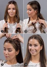 Coiffures Mexicain Moderne Tresses Simple účesy Zapletené Vlasy