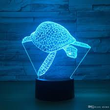 lamp turtle night